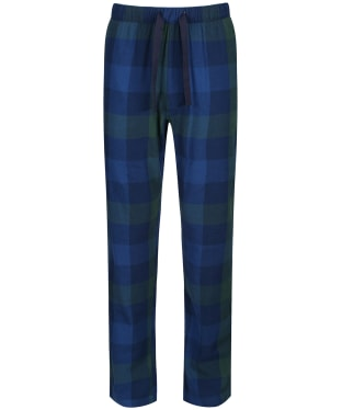 Men's Joules The Sleeper Lounge Trousers - Navy / Green Check