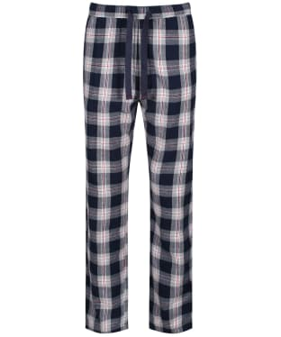 Men's Joules The Sleeper Lounge Trousers - Navy / White Check