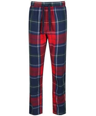 Men's Joules The Sleeper Lounge Trousers - Red / Multi Check