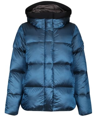 Women's Aigle Nutodi Short Iridescent Jacket - Deep Blue