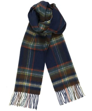 Men's Joules Tytherton Scarf - Navy Check