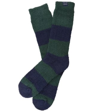 Men's Joules Fluffy Socks - Deep Emerald