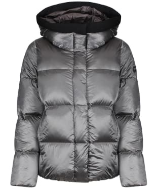 Women's Aigle Nutodi Short Iridescent Jacket - Acier