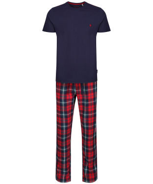Men's Joules Goodnight Pyjama Set - Red Check