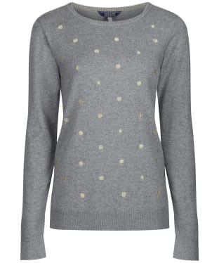 Women's Joules Holly Jumper - Grey Marl