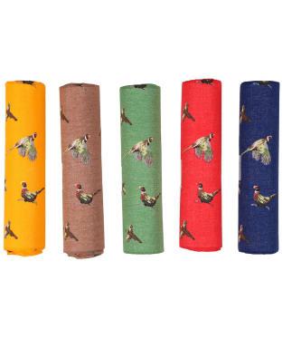 Men's Soprano Pheasant Handkerchief Pack