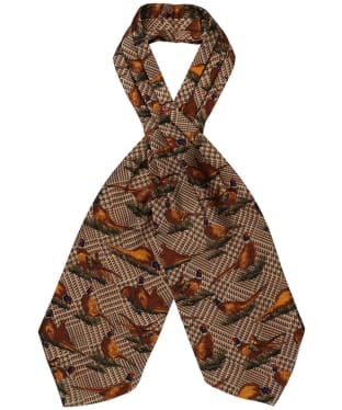 Men's Soprano Pheasant Cravat - Tweed