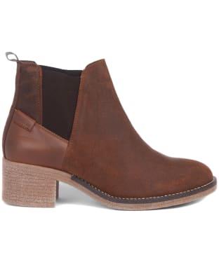 Women's Barbour Keren Suede Ankle Boots - Cognac Suede