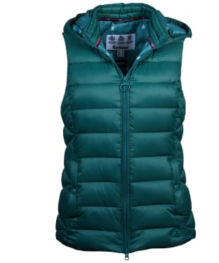 Women's Barbour Landmass Gilet - Turtle Green