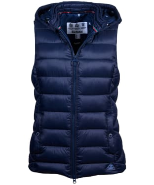 Women's Barbour Landmass Gilet - Navy