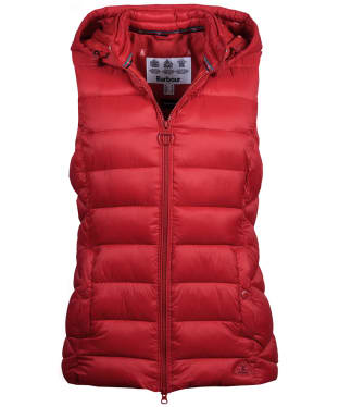 Women's Barbour Landmass Gilet - Brick Red