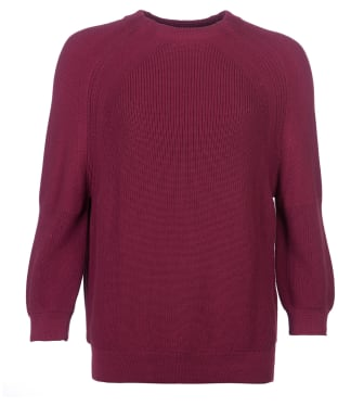 Women's Barbour Murray Knit Sweater - Rouge