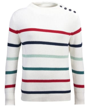 Women's Barbour Shoreward Knit Sweater - Cloud
