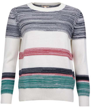 Women's Barbour Deepsea Knit Sweater - Cloud Multi