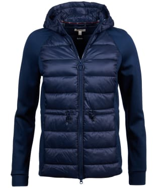 Women's Barbour Underwater Sweater Jacket - Navy