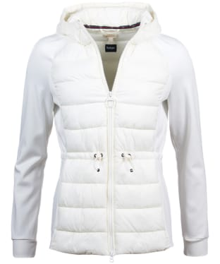 Women's Barbour Underwater Sweater Jacket - Cloud