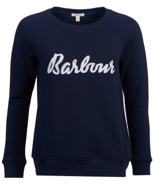 Women's Barbour Otterburn Sweatshirt - Navy