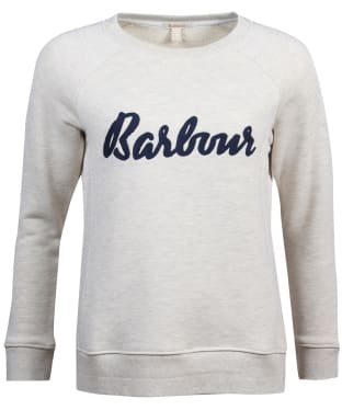 Women's Barbour Otterburn Sweatshirt - Cloud