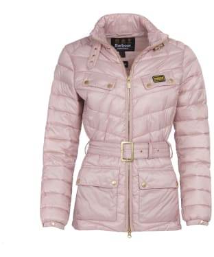 Women's Barbour International Gleann Quilt - Blusher
