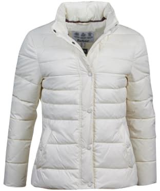 Women's Barbour Upland Quilted Jacket - Cloud