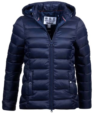 Women's Barbour Landmass Quilted Jacket - Navy