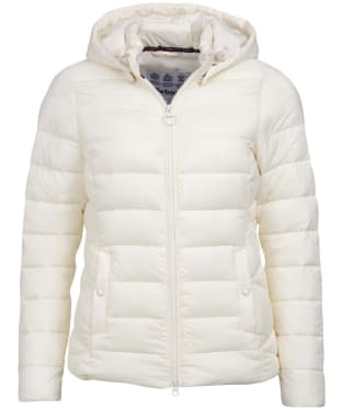 Women's Barbour Landmass Quilted Jacket - Cloud