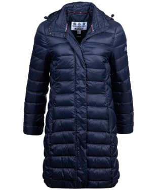 Women's Barbour Boardwalk Quilted Jacket - Navy
