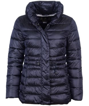 Women's Barbour Reid Quilted Jacket - Dark Navy
