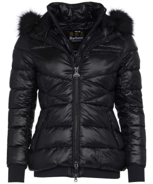 Women's Barbour International Strike Quilted Jacket