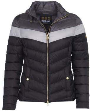 Women's Barbour International Auburn Blocked Quilted Jacket