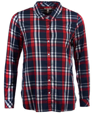 Women's Barbour Cheviot Shirt - Navy Check