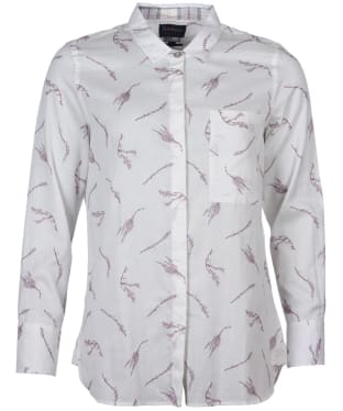 Women's Barbour Reid Shirt - Cloud Print