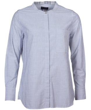 Women's Barbour Murray Shirt - Grey / White