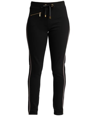 Women's Barbour International Track Trouser - Black / Red