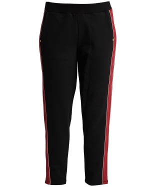 Women's Barbour International Sprinter Trouser - Black / Rhubarb