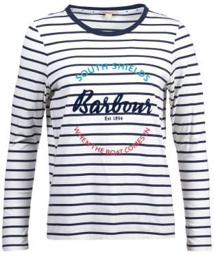 Women's Barbour Shoreward Long Sleeved Tee