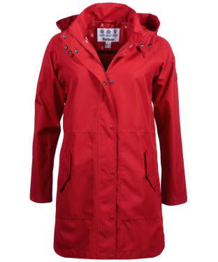 Women's Barbour Mainlander Waterproof Jacket - Brick Red