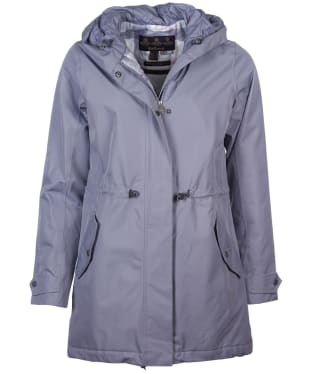 Women's Barbour Southcliff Waterproof Jacket - Platinum