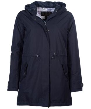 Women's Barbour Southcliff Waterproof Jacket - Dark Navy