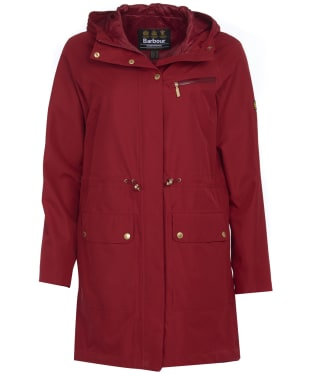 Women's Barbour International Zone Waterproof Jacket - Rhubarb