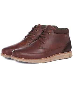 Men's Barbour Nelson Chukka Boots - Coffee
