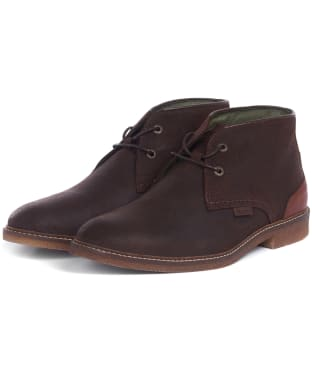 Men's Barbour Kalahari Boots - Dark Brown Suede