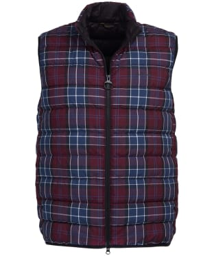 Men's Barbour Tartan Gilet