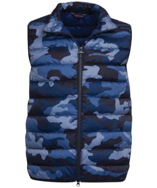 Men's Barbour Camo Gilet