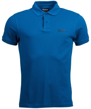 Men's Barbour International Essential Polo - Aqua