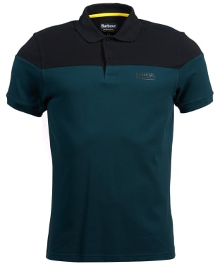 Men's Barbour International Curve Polo Shirt - Benzine