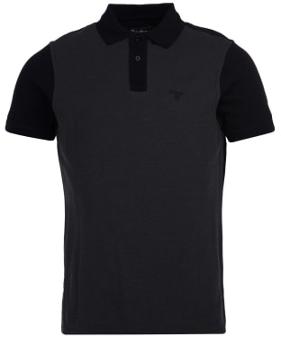 Men's Barbour Bonar Polo Shirt - Black