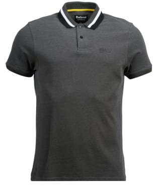 Men's Barbour International Diode Polo Shirt - Gargoyle