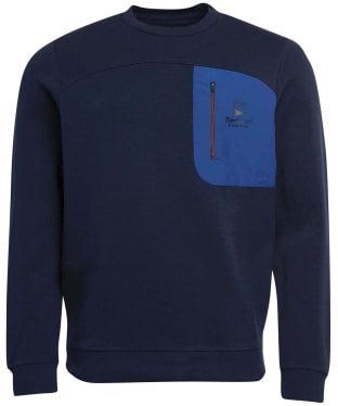 Men's Barbour Skiff Crew Sweater - Navy