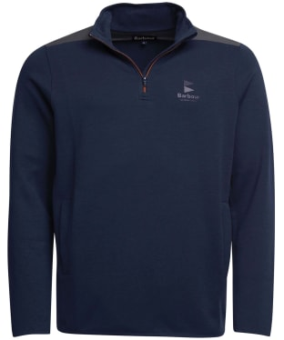 Men's Barbour Skiff Half Zip Sweater - Navy